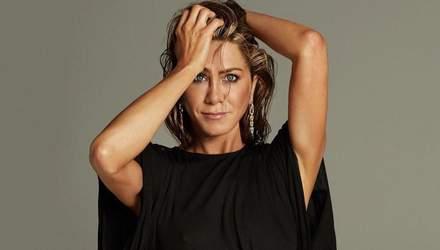Дженнифер Энистон снялась в яркой фотосессии – эффектные кадры