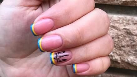 Який манікюр зробити на День Незалежності України: патріотичні варіанти