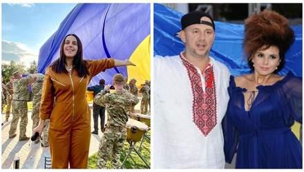Потап, Горбунов и Джамала: украинские звезды поздравили с Днем флага – эмоциональные фото