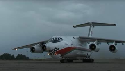 Білоруський військовий літак здійснив підозрілі рейси в Росію: докази волонтерів