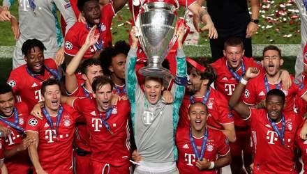 Без Мессі та Роналду: УЄФА назвав символічну збірну Ліги чемпіонів 2019/20
