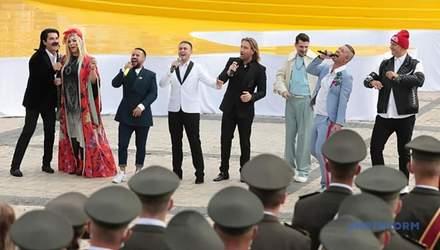 Александр Ткаченко пояснил, почему в попурри Монатика в День Независимости звучали русские песни