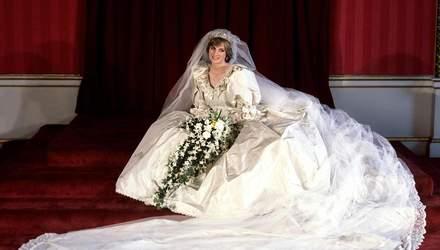 """В """"Короне"""" покажут точную копию свадебного платья принцессы Дианы: фото и видео"""