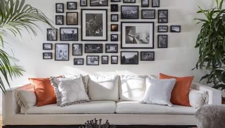 Змінюємо кімнату: 7 стильних ідей розміщення фото на стінах