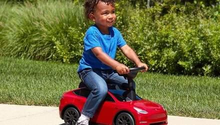 Tesla за 100 долларов: создали детскую версию электрокара – фото, видео