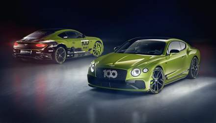 Bentley випустить 15 ексклюзивних купе Continental GT: як виглядатимуть