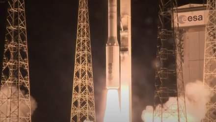 Успешный запуск ракеты Vega с украинским двигателем: видео