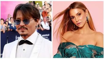 Джонни Депп закрутил роман с немецкой моделью: избранница моложе на 24 года, – СМИ
