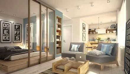Як все вмістити у квартирі 18 квадратних метрів: фото