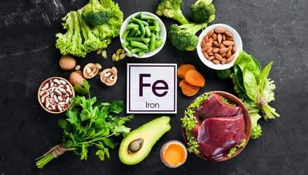 Железо в организме человека: в каких продуктах содержится и какова суточная норма?