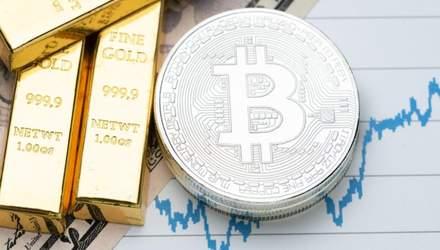 Корреляция биткоина и золота достигла рекордного значения из-за падения доллара: что это значит