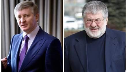 Порожняк для олігархів: Ахметов та Коломойський більше не воюють