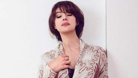 В наряде от Dior: Моника Беллуччи снялась в фотосессии для глянца