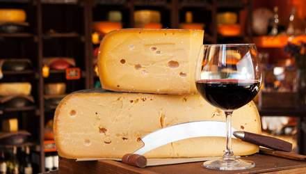 Как правильно сочетать вино и сыр