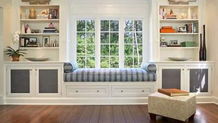 Як перетворити підвіконня на місце для відпочинку: фото цікавих ідей