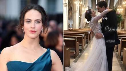 Актриса Джессика Браун-Финдли вышла замуж: первые свадебные фото