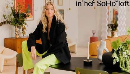 Шведська модель Ельза Госк показала свою розкішну квартиру: захопливі фото