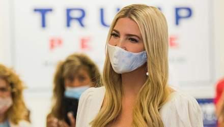 У білосніжній сукні: Іванка Трамп зачарувала ніжним образом – фото
