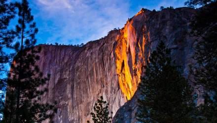 Вогняний водоспад Хорстейл: диво природи, яке повинен побачити кожен