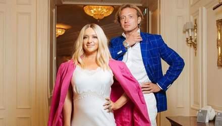 У білій сукні: Наталя Могилевська відвідала дизайнерський показ з мільйонером