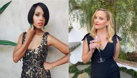 Шикарные платья и прически: как голливудские актрисы выглядели на виртуальном вручении Эмми-2020