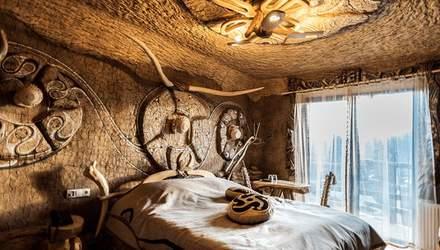 Ночь в Киевской Руси: фото отеля в Карпатах с необычными, но роскошными номерами