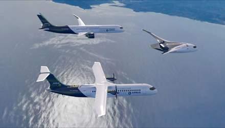 """Без шкідливих викидів: як виглядатимуть """"літаки майбутнього"""" від Airbus – фото"""