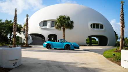 В форме большого шара: в США продают дом, который способен выдержать ураган – фото