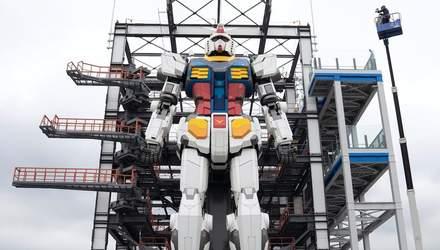 18-метрового робота тестують в Японії: промовисте відео
