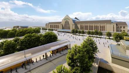 Не тільки у Львові: як може виглядати оновлена Вокзальна площа у Києві – фото проєкту