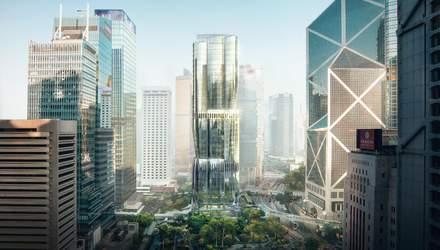 В виде космического корабля: в Гонконге появится многоуровневый паркинг от Захи Хадид – фото