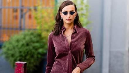 У стильному костюмі: Ірина Шейк продемонструвала бездоганний образ на вулицях Мілана – фото
