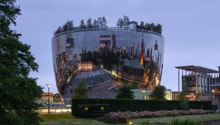 У вигляді блискучої салатниці: в Роттердамі з'явиться масштабне депо-музей – фото