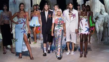 Показ під водою: оригінальна колекція Versace на Тижні моди в Мілані