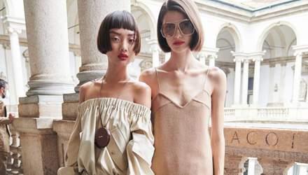 Брудне волосся та червоні губи: нові б'юті-тренди з тижня моди в Мілані