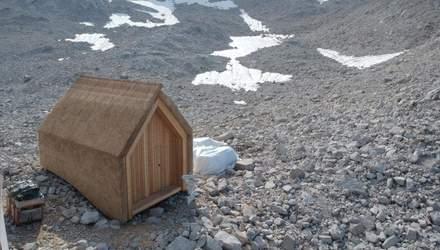 Солом'яне покриття: в Німеччині розробили міні-будинок для високогірних умов – фото