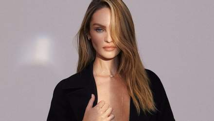 У мокрій сукні: Кендіс Сванепул завела мережу еротичним фото, де показала оголене тіло