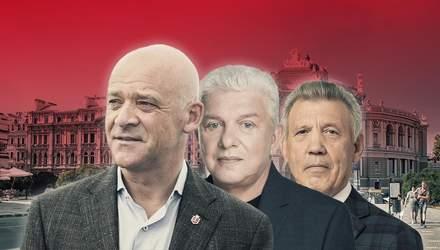 Рейтинг кандидатів в мери і партій перед місцевими виборами в Одесі
