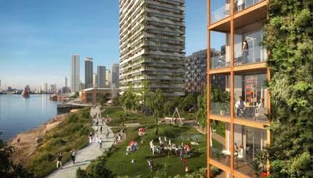 Бизнес, жилье и экологический отдых: план реконструкции набережной в Лондоне – фото