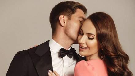 Весілля Володимира Остапчука та Христини Горняк: фото і відео сукні та церемонії