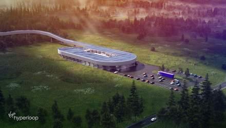 В США построят тестовую станцию Hyperloop: фото фантастического проекта
