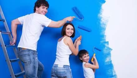 Самая безопасная краска для ремонта в жилом помещении: какая она