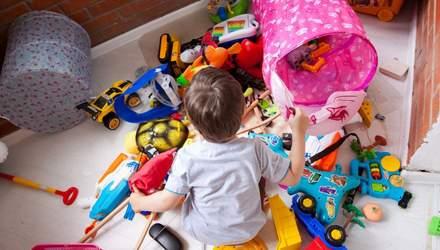 Як контролювати кількість дитячих іграшок: практичні поради