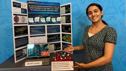 Дивовижне відкриття: 14-річна дівчина із США знайшла спосіб знищення COVID-19