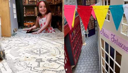 Магия вне Хогвартса: как папа создал для своей дочери копию Косого Переулка - фото, відео