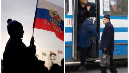 Гімн Росії в центрі Києва, водійка тролейбусу відлупцювала пенсіонера – Ти дивись