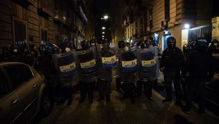 В Італії тривають масштабні протести через карантин: люди громлять магазини – фото