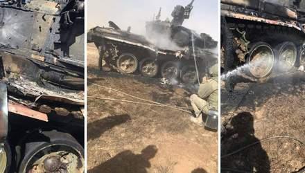 Масштабные учения Кавказ 2020: российский танк подбили, пострадал командир