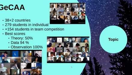 Українські школярі зайняли призові місця у змаганні з астрономії та астрофізики: імена