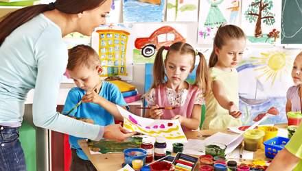 За 2020 рік в Україні створили понад 10 тисяч місць для дітей у садочках: деталі